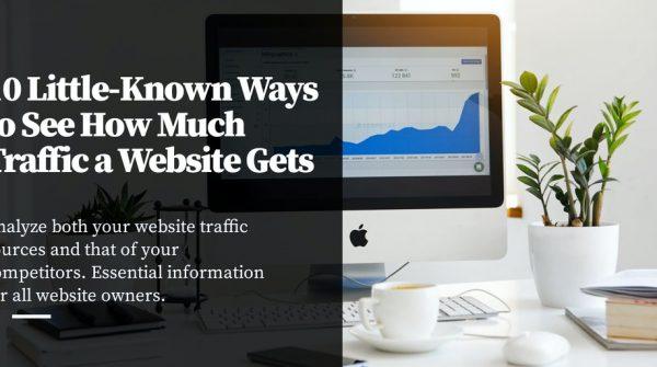Bao nhiêu lưu lượng truy cập mà một trang web nhận được