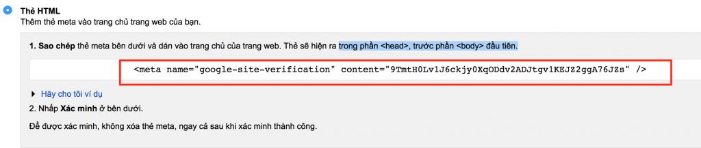 Xác Minh Bằng Phương Thức Thêm Thẻ HTML
