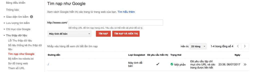 Tìm Nạp Như Google