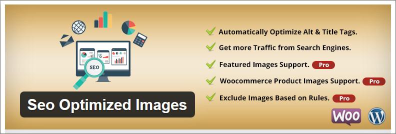 Các tính năng sử dụng của SEO Optimized Images