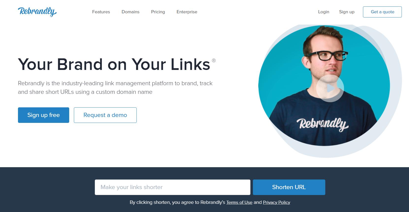 rut gon link Rebrandly
