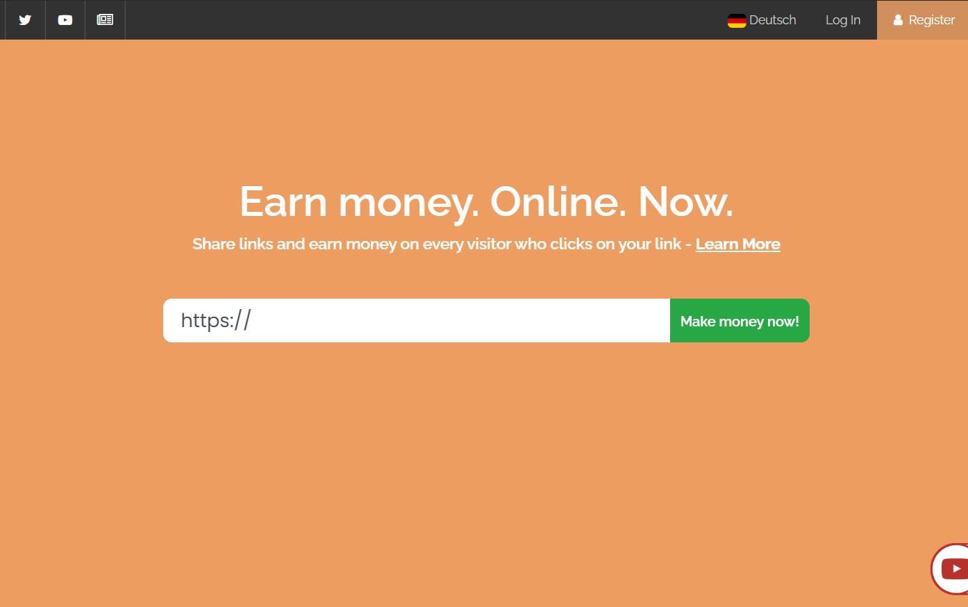 link rút gọn Linkvertise.net