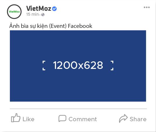 kích thước ảnh bìa sự kiện (event) trên facebook