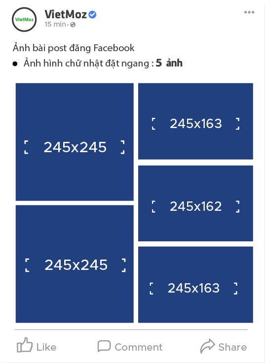 kích thước hiển thị 5 anh hình chữ nhật ngang