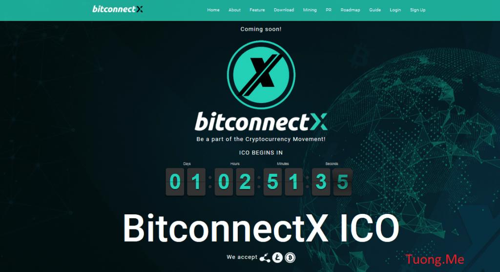 BITCONNECTX - Dự án đầu tư ICO đáng đầu tư nhất đầu năm 2018
