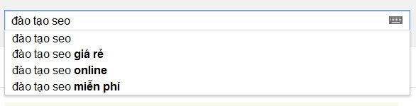 Demo Google SearchBox