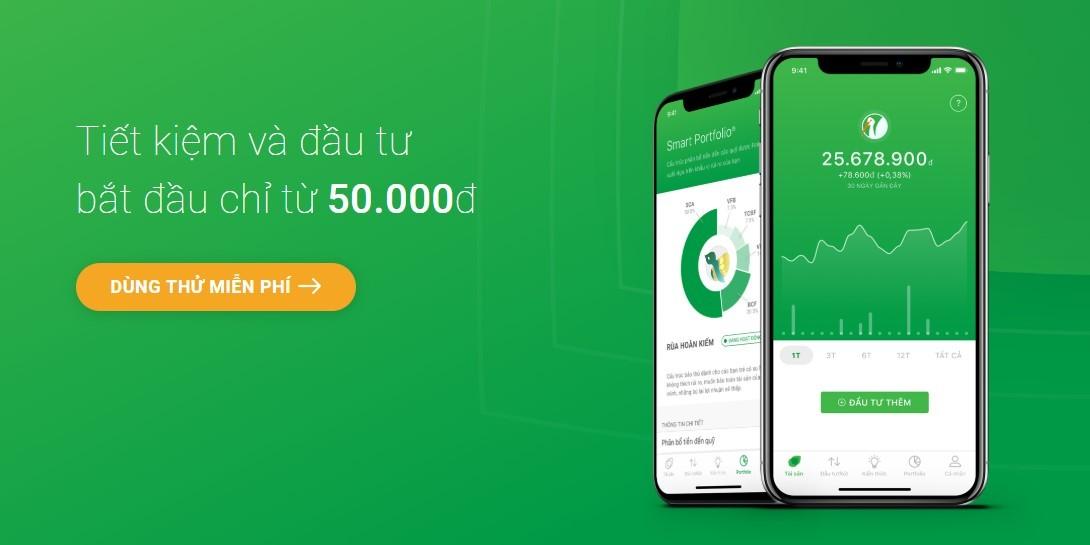 Kiếm tiền với ứng dụng đầu tư Finhay