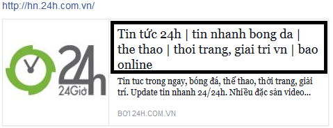 Thẻ tiêu đề xuất hiện trên MXH làm link anchor text