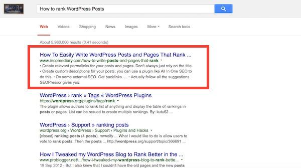 Rank WP Sites