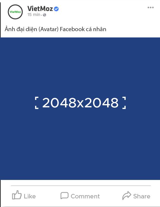 kích thước ảnh avatar trên facebook