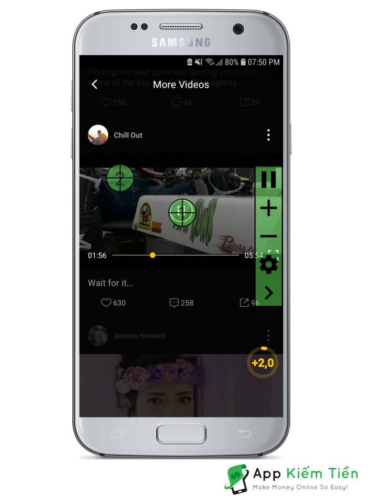 Khởi động ứng dụng tự động click xem Video