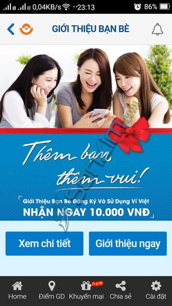 Kiếm tiền trên smartphone với ứng dụng Ví Việt - 4