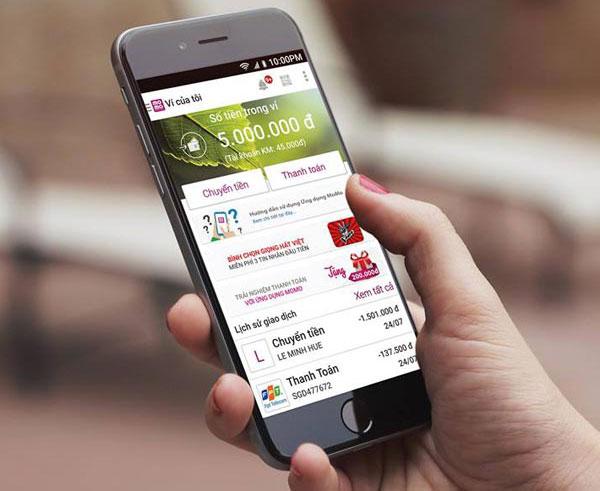 MoMo - Top 10 app kiếm tiền trên điện thoại tốt nhất