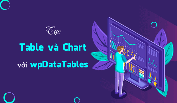 tao table chart voi wpdatatables